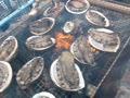 アワビの丸焼き